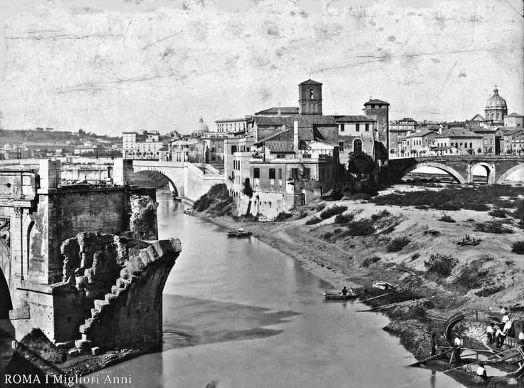Isola Tiberina 1890.