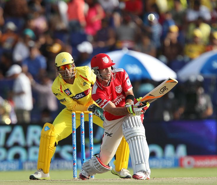 MOM Glenn Maxwell played some attractive shots