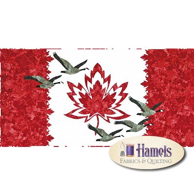 Homecoming Quilt Kit - Canada Flag Quilt                                                                                                                                                      More