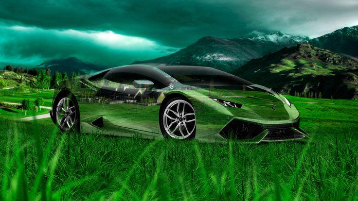 Beau Lamborghini Huracan Crystal Nature Car 2014 Art Photoshop HD Wallpapers Design By Tony Kokhan Www.el Tony.com_  (1920×1080) | WALLPAPERS | Pinterest ...