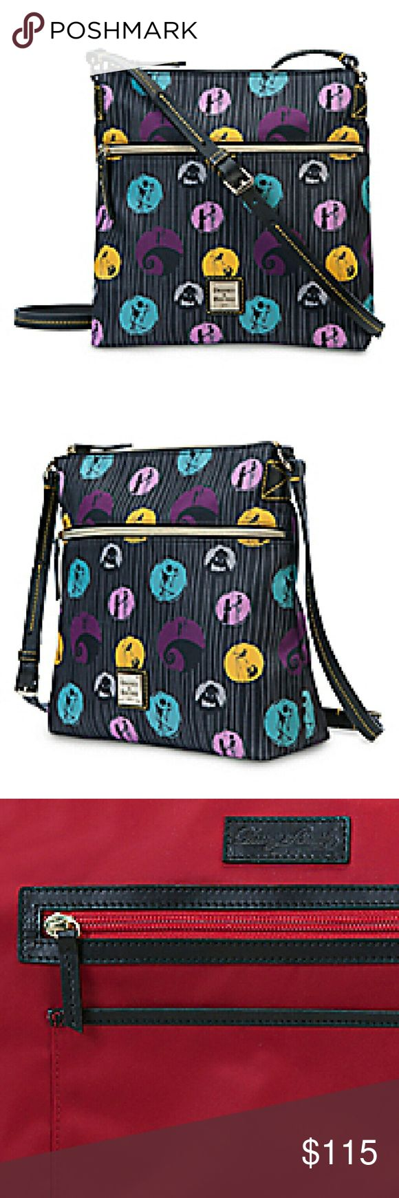 Nwt Nightmare Before Christmas Dooney Bourke purse This is a new Tim Burton's The Nightmare Before Christmas letter carrier by Dooney & Bourke crossbody purse. Dooney & Bourke Bags Crossbody Bags