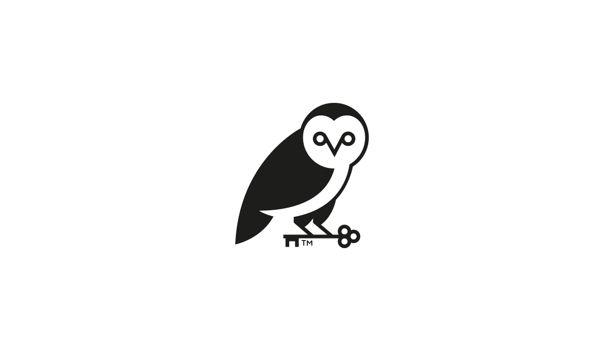 Owl Logo Mark by Neil Burnell, via Behance #logo #branding #mark #owl