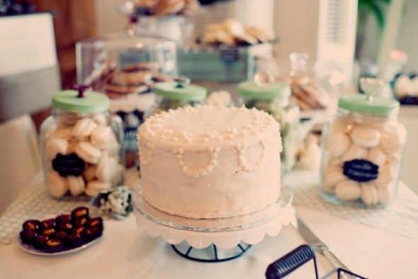 Desserts Table At Rustic Wedding