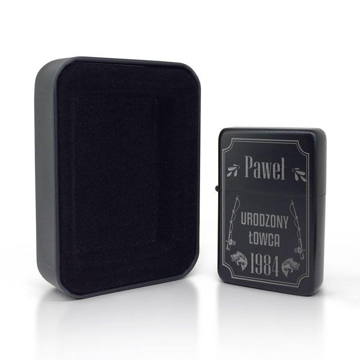 Zapalniczka Benzynowa Grawerowana Urodzony Lowca Apple Watch Smart Watch Wearable