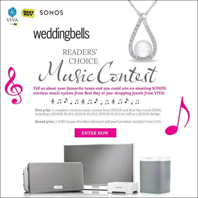 31 best free wedding stuff images on pinterest free wedding stuff share your favourite wedding songs and you could win a wireless music system from sonos and free wedding stuffwedding junglespirit Image collections