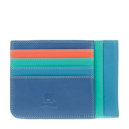 Slim Credit Card Holder myWalit SS015 - beautiful brightly colored Leather wallets, bags, accessories- these make me so wonderfully happy! #mywalitss2015 www.mywalit.com #SS2015  #mywalititalianleather #thewalletyouneverforget