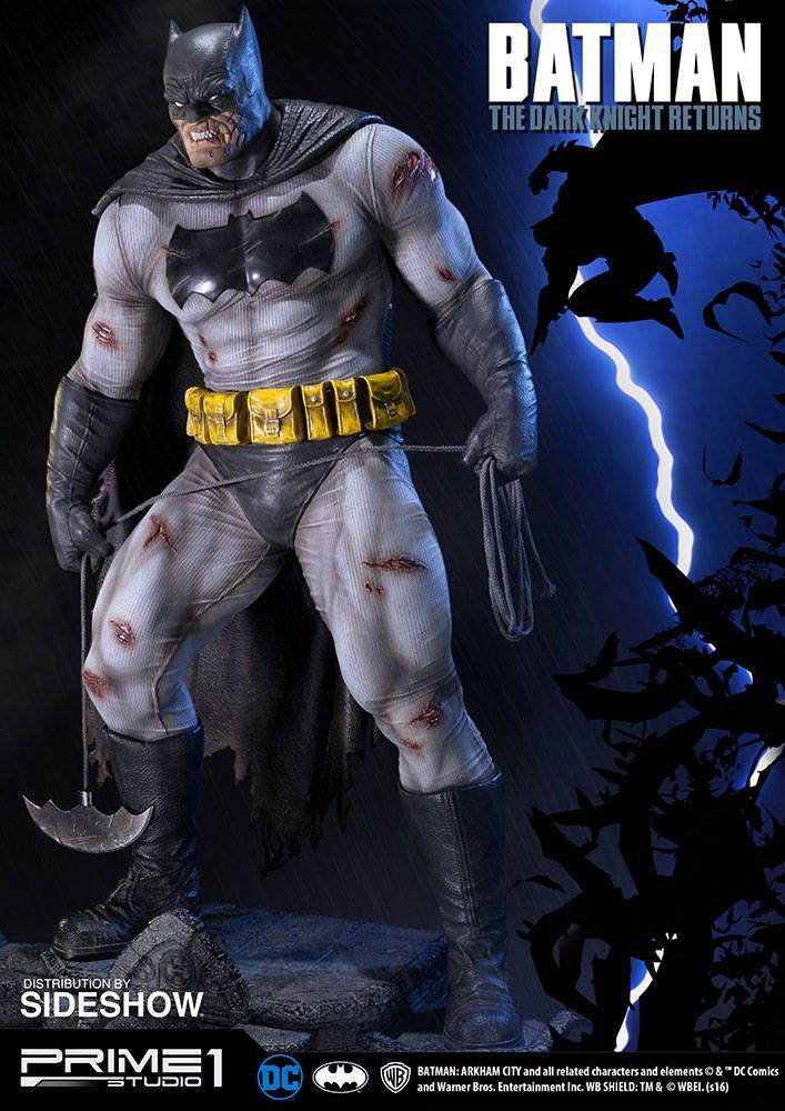 The Prime 1 Studio The Dark Knight Returns Batman Statue Is