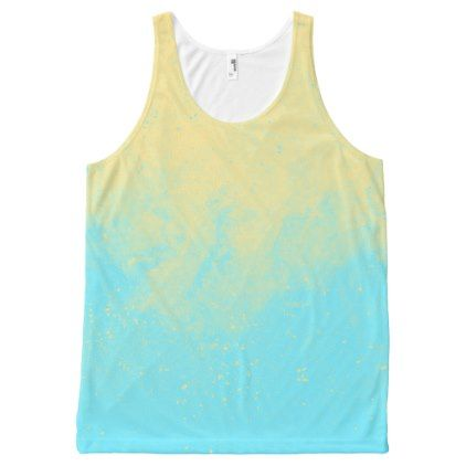 Cheap Sale Supply Printed Racerback Top - BLU BUTTERFLY/SUNFLOWERS by VIDA VIDA Sneakernews Sale Online Cheap Sale Purchase High Quality Buy Online 43RMywm4l