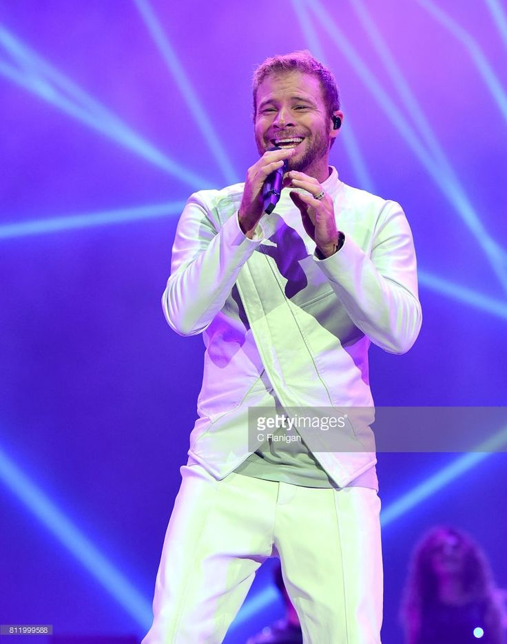 Brian Littrell of The Backstreet Boys performs during the 2017 Festival d'ete de Quebec on July 9, 2017 in Quebec City, Canada.