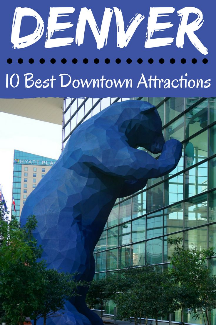 Discover The 10 Best Downtown Denver Attractions The Include The Baseball  Park, Museums,