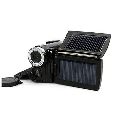 """Solar Powered 12MP Digital Video Camera with 3.0"""" LCD Screen (DCE1077) – EUR € 62.69"""