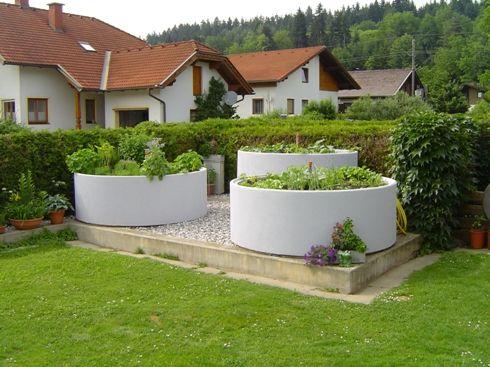 Gartengestaltung Mit Beton 34 besten ausgefallene hochbeete bilder auf hochbeet