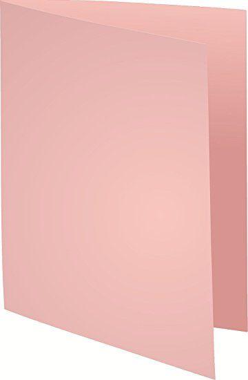 Exacompta 410003E Paquet de 100 Chemises Cartonnée Simple en Carte Epaisse Foldyne 250g Rose: Exacompta: Amazon.fr: Fournitures de bureau