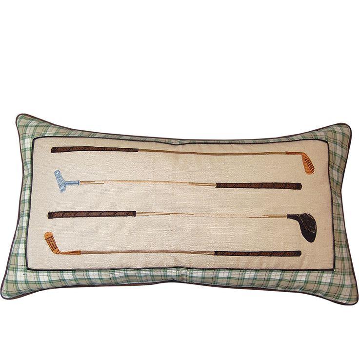 In the Fairway Vintage Golf Irons Indoor Pillow | Wayfair
