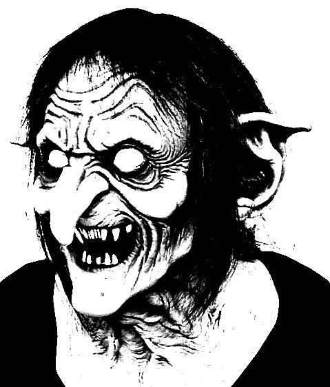 creepy halloween coloring pages - scary coloring pages witch coloring page scary pictures
