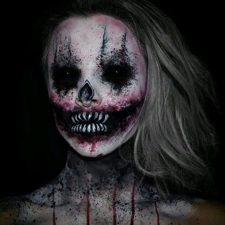 10 best images about sceary clown on Pinterest Scary clowns - terrifying halloween costume ideas