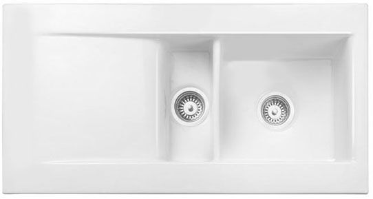 Bluci Vecchio DS1 1.5 Bowl Ceramic Sink