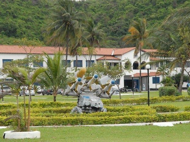 Escola de Aprendizes Marinheiros na Prainha, em Vila Velha, onde os colegas acharam o colega morto (Foto: Arquivo A Gazeta)