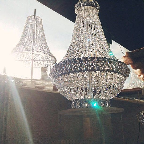 The Great Gatsby 2017 Handcrafted Chandelier Created For Tribute Display Windows