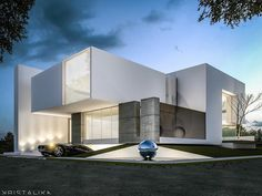 """""""Semplice House by Kristalika. Be inspired by leading architects. #architect…"""