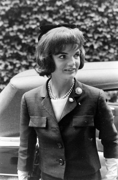 Jackie Kennedy in Paris, 1961