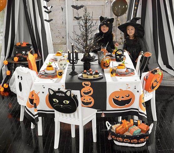 Halloween Bat Chair Backers | Pottery Barn Kids