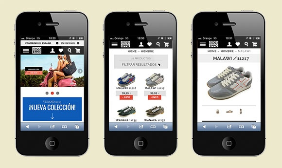 Diseño web y comercio electrónico optimizado para móviles