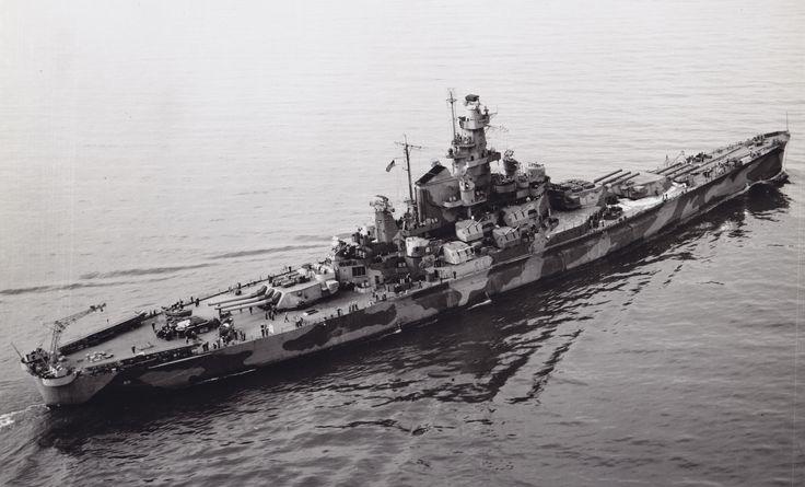 17 Best images about South Dakota Class Battleships on ...