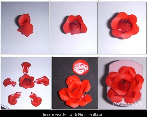 How To Make Rose Flowers With Quilling Paper Howsto Co