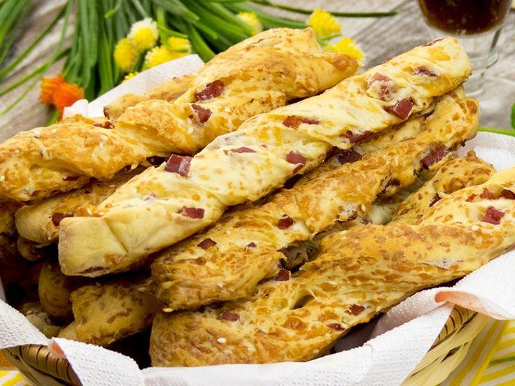 Baghete cu șuncă și cașcaval – o gustare pe care trebuie să o încercați!