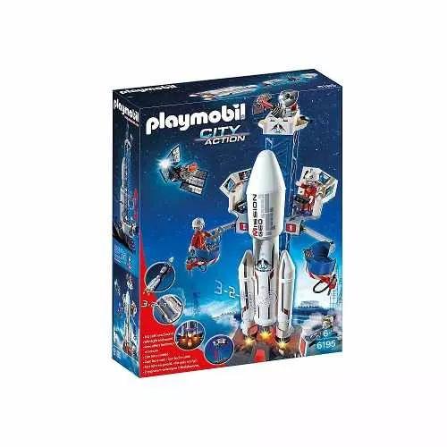Playmobil 6195 Cohete Espacial Lanzado - $ 3.999,99