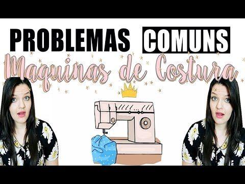 Maquina de costura com problema ? Vem comigo ! ♥( Soluçoes praticas ) ♥ - YouTube