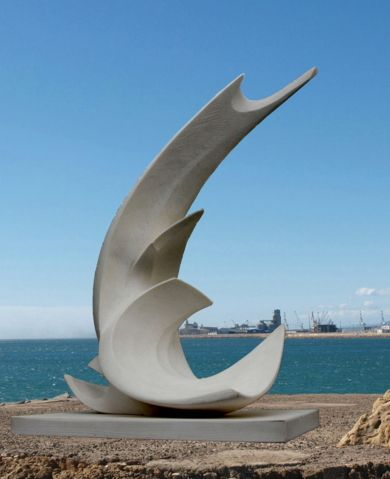 Torso masculino | Escultura de Jesús Arévalo | Flecha