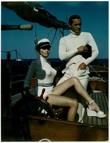 Helmut Newton, Sailing, Cannes;