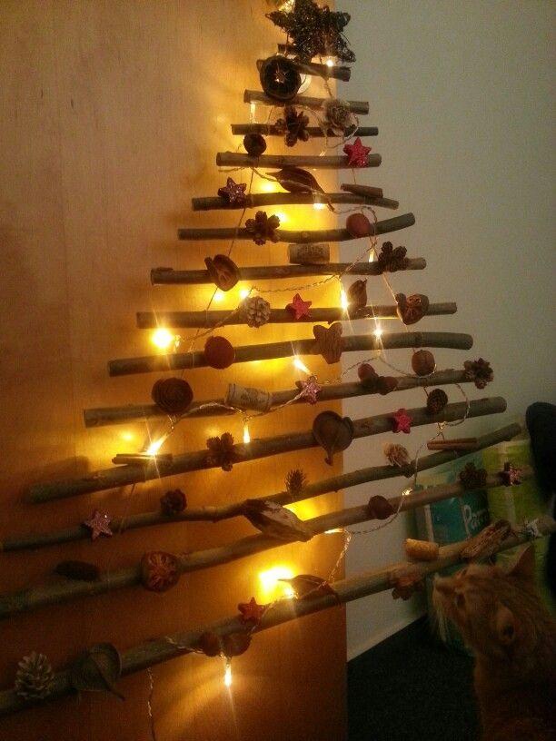 Diy Christmas Wall Tree
