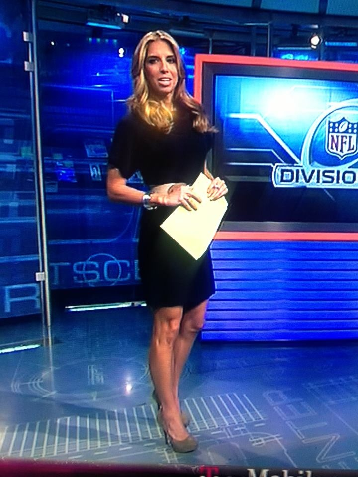 Sara Walsh on Sportscenter wearing another meNmommy look ...