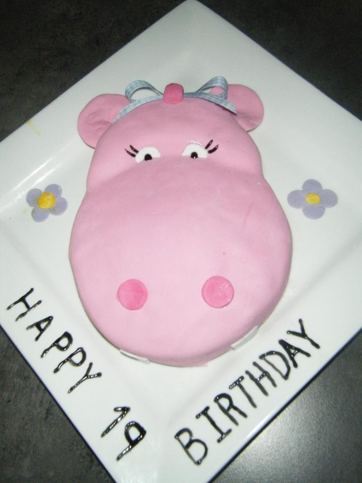 Girl hippo Cake - 2010