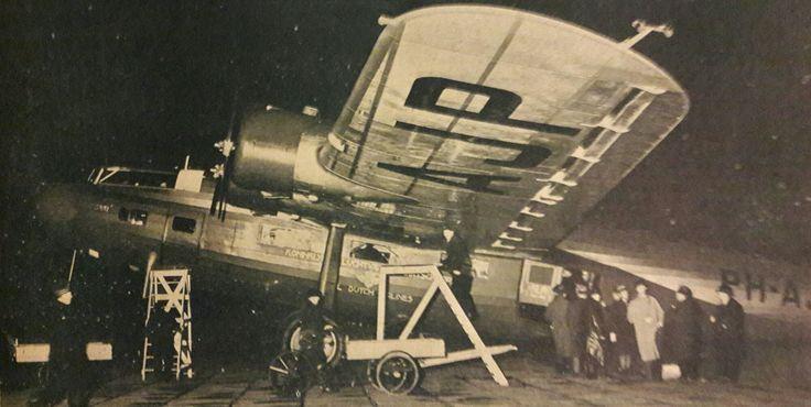 FOKKER F 22 papagaai klaar voor de sprong in het duister 1935