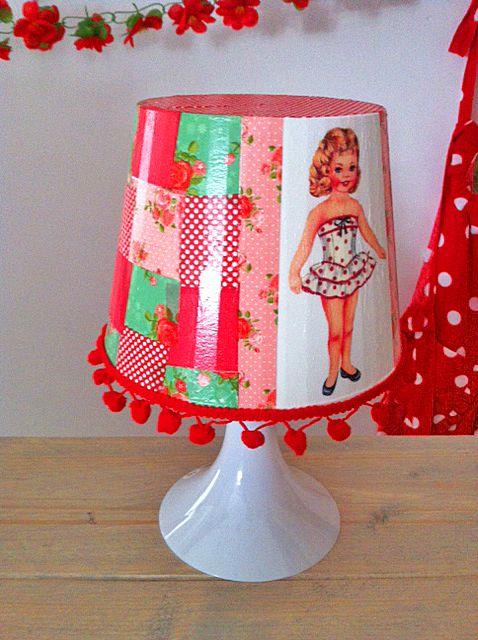 Kinderfeestje lampjes pimpen in Helmond bij Pink Cherry http://www.pink-cherry.nl/kinderfeestjes