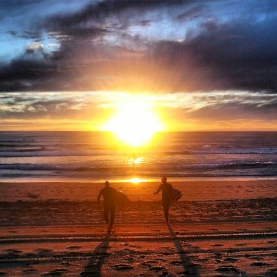 Sunrise surfers at Manly Beach #lovemanly #surfing #sydney #samsung