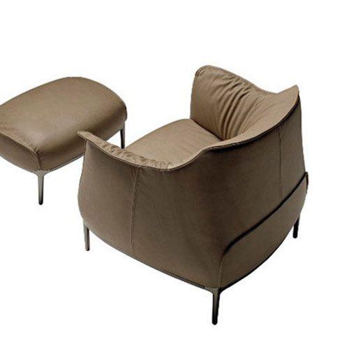 The Archibald Armchair by Italian furniture firm Poltrona Frau