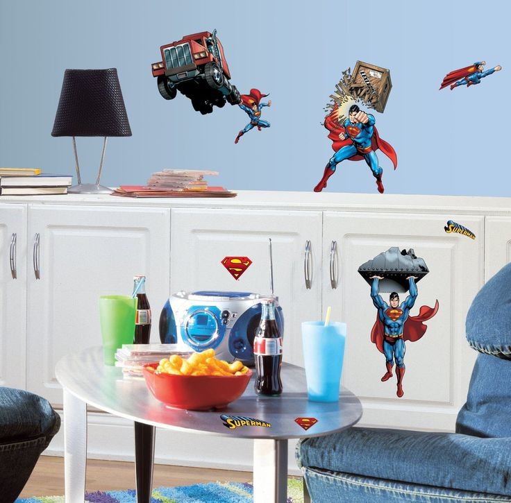 70 best Superman Bedroom Decor images on Pinterest | Superman ...
