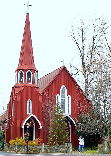 The Red Church In Sonora Ca Churches In 2019