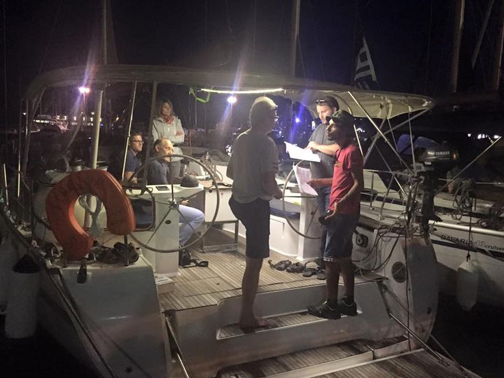 "Check in, ""night vision"" ! ... an idea during continues family service. Kekeris Yachts ... a family Company !"