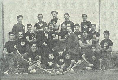 "Athlete team ""Vahagn"" of Samatia, ""Marmnamarz"", 1912"