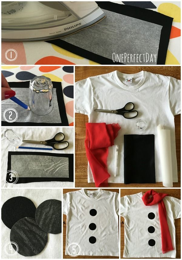 How to make a DIY snowman costume for kids