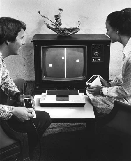 pong video game...Still the only game I can play!  Lol