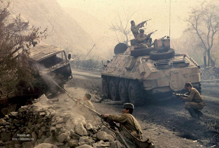 photographs from Afghanistan taken in the period from 1984 to 1987