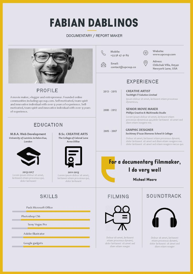 20 best meilleurs cv 2017 images on pinterest