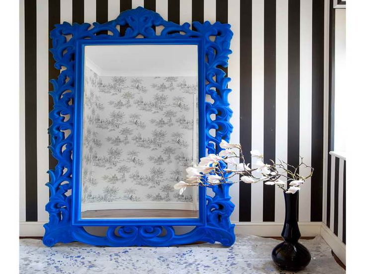 Gorgeous Blue Full Length Mirror Style